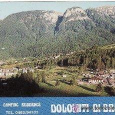 Postales: +-+ PV530 - POSTAL - CAMPING RESIDENCE - DOLOMITI DI BRENTA. Lote 36116291