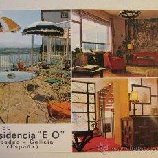 Cartes Postales: POSTAL RIBADEO. LUGO. GALICIA. HOTEL RESIDENCIA E.O. SIN CIRCULAR. Lote 36153137
