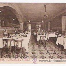 Postales: GRAN HOTEL ANDRIA-COMEDOR-SEO DE URGEL. Lote 36705085