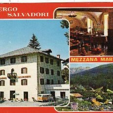 Postales: +-+ PV669 - ALBERGO SALVADORI - MEZZANA MARILLEVA. Lote 37012920