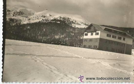 ** PH286 - POSTAL - HOTEL SOLINEU - LA MOLINA - ESCRITA (Postales - Postales Temáticas - Hoteles y Balnearios)