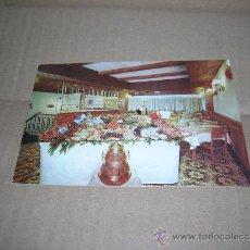 Postales: TARJETA POSTAL: RESTAURANTE MARISQUERIA COMBARRO, MADRID. AÑO 1974. SIN USAR.. Lote 37322394