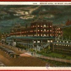 Postales: TARJETA DEL HOTEL SEASIDE - ATLANTIC CITY - BIEN CONSERVADA Y SIN USAR. Lote 37548680