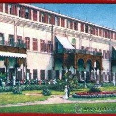 Postales: TARJETA DEL HOTEL GEZIREH PALACE - EL CAIRO - EGIPTO - TUCK & SONS - BIEN CONSERVADA Y SIN USAR. Lote 37548713