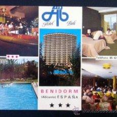 Postales: HOTEL BALI - BENIDORM. Lote 37554540