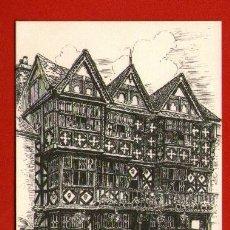 Postales: FACHADA FEATHERS HOTEL - LUDLORS - POSTAL SIN USAR - MADE IN GRAN BRETAÑA.. Lote 37652406