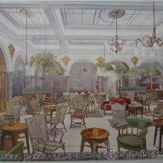 Postales: POSTAL DE THE LOUNGE, ROYAL STATION HOTEL. Lote 38021720