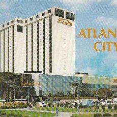 Postales: EL HOTEL SANDS EN ATLANTIC CITY (ESTADOS UNIDOS). Lote 39618909