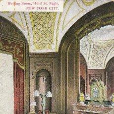 Postales: HOTEL ST. REGIS, NUEVA YORK (ESTADOS UNIIDOS), CIRCULADA EN 1910, (VER EL DORSO). Lote 39618989