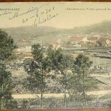 Postales: ANTIGUA POSTAL AGUAS DE MONDARIZ - BALNEARIO - ALREDEDORES - CIRCULADA.. Lote 38245233