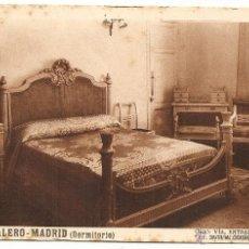 Postales: MADRID. HOTEL CALERO. Lote 40696950