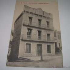 Postales: ANTIGUA POSTAL....S.FELIU CODINAS......HOTEL ROGET...PRIMER PREMIO CONCURSO HOTELES.. Lote 40749987