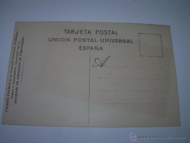 Postales: ANTIGUA POSTAL....S.FELIU CODINAS......HOTEL ROGET...PRIMER PREMIO CONCURSO HOTELES. - Foto 3 - 40749987