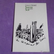 Postales: HOTEL-H5- HOTEL GRAN SARRIA SOL-BARCELONA. Lote 121876988
