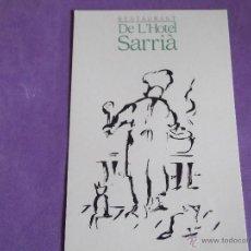 Postales: HOTEL-H5- HOTEL GRAN SARRIA SOL-BARCELONA. Lote 121877098