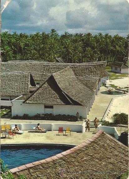 == PH928 - POSTAL - WATAMU BEACH HOTEL - MALINDI - KENYA (Postales - Postales Temáticas - Hoteles y Balnearios)