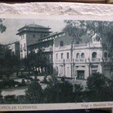 Postales: BALNEARIO HERVIDEROS COFRENTES - 1950 VALENCIA - DRAGONES ALCANTARA - FOURNIER - POSTAL HUECOGRABADO. Lote 42514801