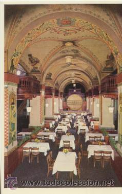 BERNA.- HOTEL - WERNUNG UND PAPIER. (Postales - Postales Temáticas - Hoteles y Balnearios)