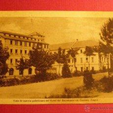 Postales: ANTIGUA POSTAL - GUITIRIZ - VISTA NUEVOS PABELLONES HOTEL DEL BALNEARIO - LUGO - ESCRITA -. Lote 43131731
