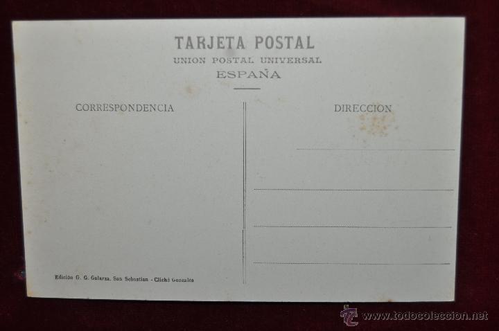 Postales: ANTIGUA POSTAL DE SAN SEBASTIAN. BALNEARIO DE LA PERLA Y PLAYA. SIN CIRCULAR - Foto 2 - 43213788