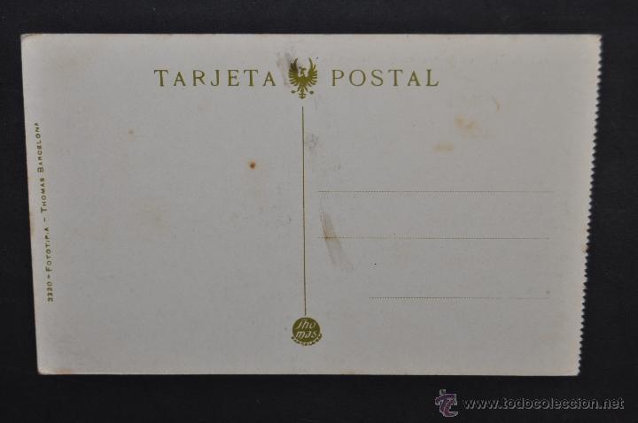 Postales: ANTIGUA POSTAL DE ALICANTE. LOS BALNEARIOS (LA ROSA Y LA FLORIDA). FOTPIA THOMAS. SIN CIRCULAR - Foto 2 - 43303215