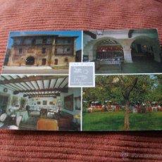 Postales: POSTAL DE SANTILLANA DEL MAR HOTEL LOS INFANTES VER LAS 2 FOTOS MAS POSTALES EN MI TIENDA. Lote 43511294