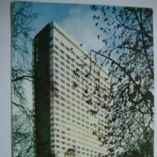 Postales: POSTAL HOTEL HILTON BRUSELAS BRUXELLES, ORIGINAL AÑOS 60 LOT100. Lote 43812949