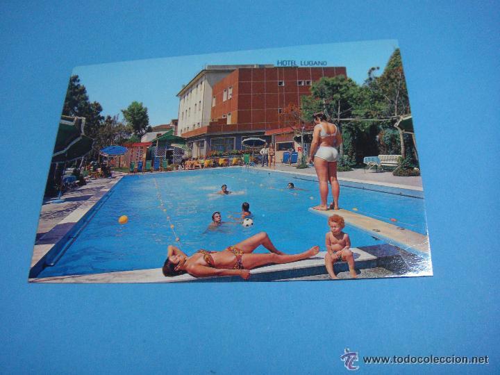 POSTAL DEL HOTEL ITALIANO LUGANO. HOTEL LUGANO VENEZIA. MARGHERA CITTÀ (Postales - Postales Temáticas - Hoteles y Balnearios)