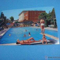 Postales: POSTAL DEL HOTEL ITALIANO LUGANO. HOTEL LUGANO VENEZIA. MARGHERA CITTÀ. Lote 43820030