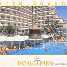 Cartoline: POSTAL - HOTEL INDALO PARK - SANTA SUSANA BARCELONA - NO CIRCULADA . Lote 43930879