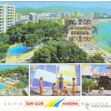 Cartoline: POSTAL - HOTEL SUN CLUB MARINA CALVIA MALLORCA - NO CIRCULADA . Lote 43931577