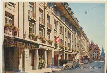 HOTEL BRISTOL.- BERNA. (Postales - Postales Temáticas - Hoteles y Balnearios)