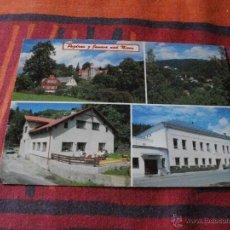Postales: POSTAL DE PRAGA VARIOS ALOJAMIENTOS MIRA MAS POSTALES EN MI TIENDA VISITALA. Lote 44082415