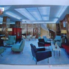 Postales: POSTAL AÑOS 60/70 INTERIOR HOTEL MUEBLES VINTAGE AÑOS 70. Lote 44282300