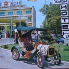 Postales: POSTAL RALLYE HOTEL FIGUERAS AÑOS 60/70. Lote 44321310