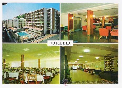 HOTEL DEX -LLORET DE MAR-A1 (Postales - Postales Temáticas - Hoteles y Balnearios)