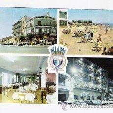 Postales: HOSTAL RESTAURANTE MIAMI-SAN CARLOS DE LA RAPITA-AÑOS 60. Lote 44423267