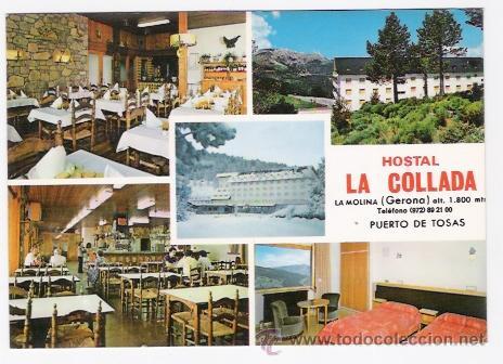 HOSTAL LA COLLADA -LA MOLINA- (Postales - Postales Temáticas - Hoteles y Balnearios)