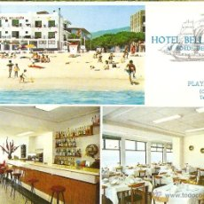 Postais: HOTEL BELLA VISTA, PLAYA DE ARO, SIN CIRCULAR. Lote 44763385