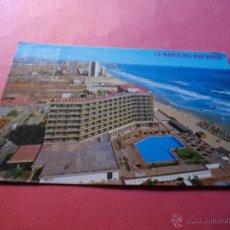 Postales: POSTAL DE LA MANGA MURCIA HOTEL ENTREMARES . Lote 44770088