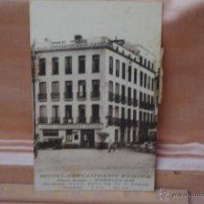 Postales: HOTEL RESTAURANTE REGINA -PERPIGÑAN-CONCENSURA DE LA REPUBLICA DE 1937. Lote 45057522