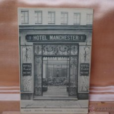 Postales: HOTEL MANCHESTER-PARIS. Lote 45061837