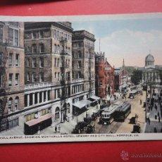 Postales: CITY HALL AVENUE. NORFOLK. ESTADOS UNIDOS. Lote 45818589