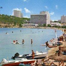 Postales: Nº 1525 POSTAL HOTEL COMODORO PALMA NOVA MALLORCA. Lote 45964933