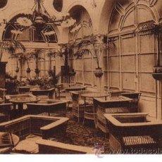 Postales: Nº 1724 POSTAL SEVILLA HOTEL PARIS JARDIN DE INVIERNO HAUSER Y MENET. Lote 47212248