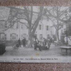 Postales: LOTE DE 3 POSTALES DE HOSTELLERIE DU PARC (LE LUC EN PROVENCE) FRANCIA. Lote 48674503