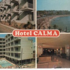 Postales: POSTAL DE MALLORCA Nº 4/60 HOTEL CALMA HORACIO, 11 CA'N PASTILLA. Lote 49379905