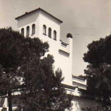 Postales: PENSIÓN RESIDENCIA ROLKE CASTELLDEFELS BARCELONA FOTOGRAFÍA ROVERETO SIN CIRCULAR . Lote 49558414