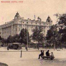 Postales: MADRID HOTEL RITZ ESCRITA CIRCULADA SELLO POSTAL ANTIGUA. Lote 49729066