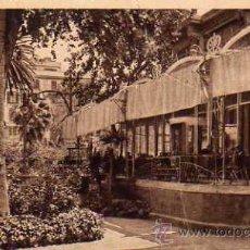 Postales: PALMA DE MALLORCA CAFÉ RESTAURANT ALHAMBRA HOTEL ESCRITA CIRCULADA SELLO . Lote 50311620